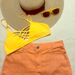 Other - Yellow Swimsuit Top